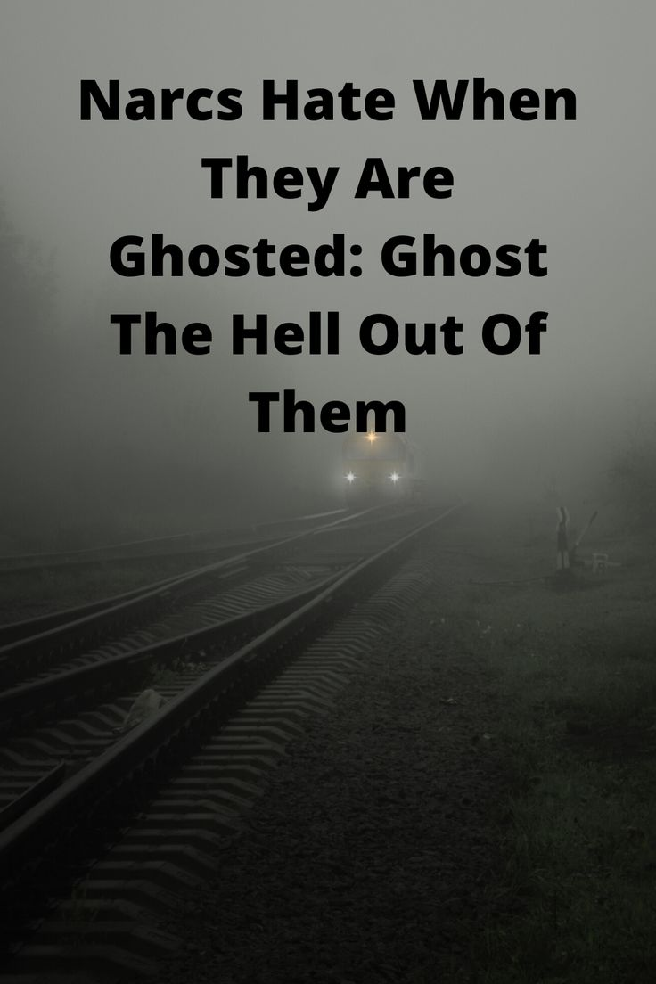Ghosting your narcissists a great revenge narcissist