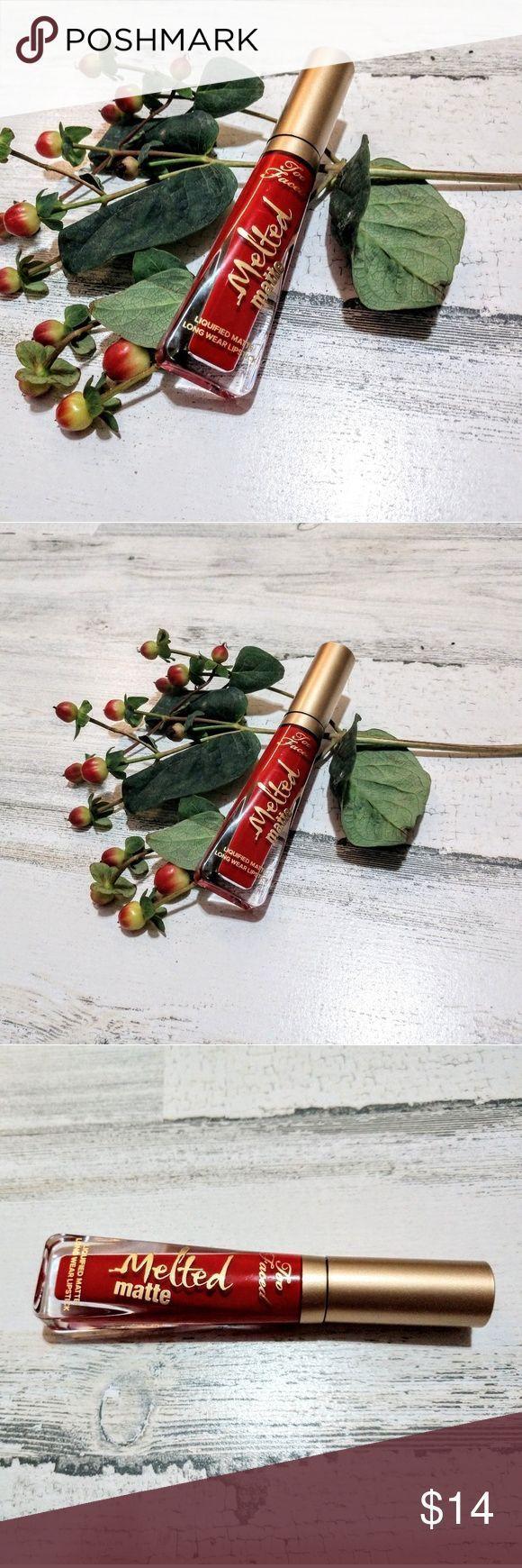 Too Faced Lady Balls Roter flüssiger Lippenstift Die perfekte rote Lippe für j…