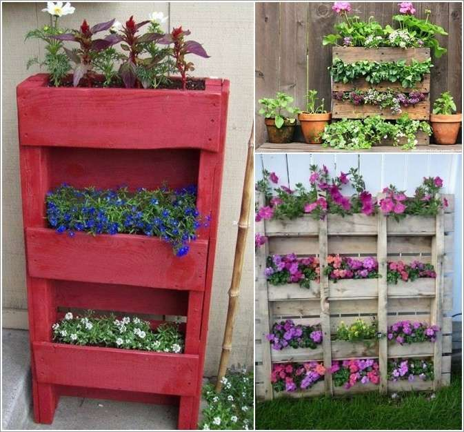 Recycling wood pallets for benches and gazebo designs, flower beds and outdoor furniture, fences and vertical garden design is perfect for DIY home decorating. Description from lushome.com. I searched for this on bing.com/images