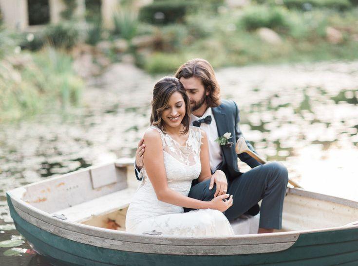 romantic boat portraits