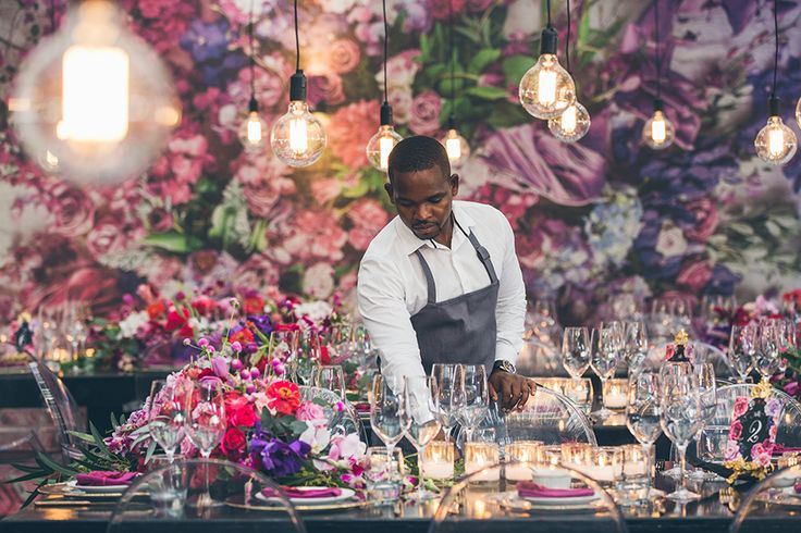 Magnificent wedding flowers by Fleur le Cordeur.  #wedding #flowers #luxury