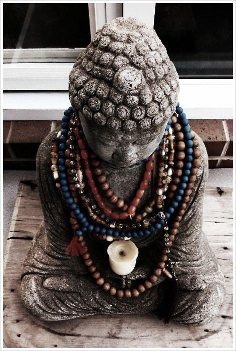 beaded buddha