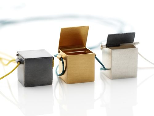 Pendant Boxes by Joana Cunha