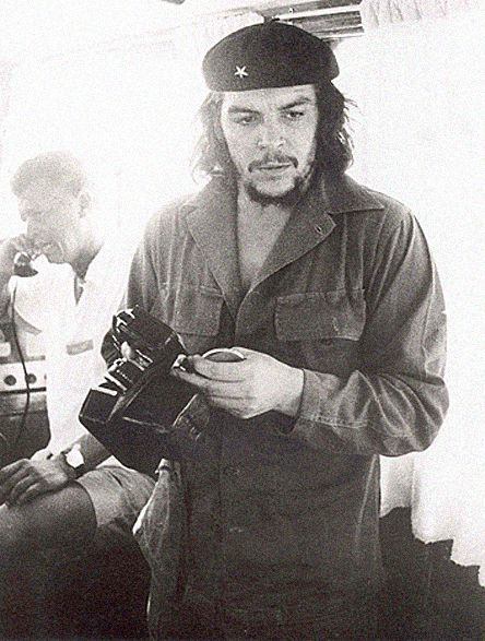 Che and Nikon - KUDOS TO THE PERSON WHO TOOK THIS PHOTO. Bravery on taking on The Che!