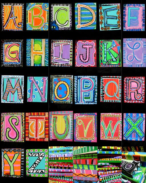 Bright alphabet crayon resist?