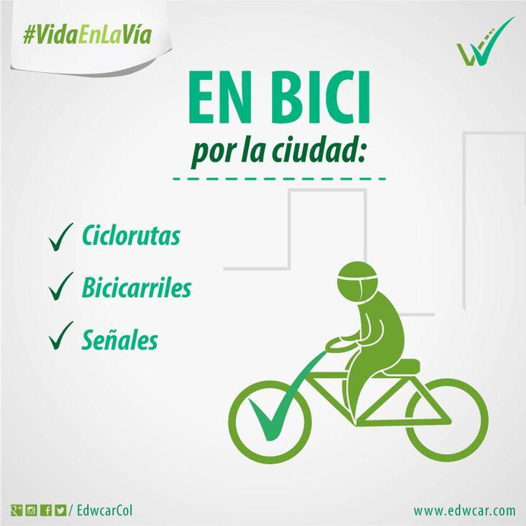 ¿Te gusta movilizarte en bicicleta? ¡Atento a estas recomendaciones! Preserva la #VidaEnLaVía