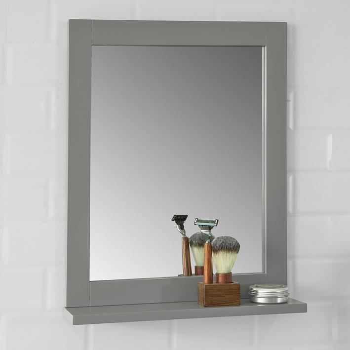Sobuy Specchio Bagno Con Mensole L40 A50 Cm Con Ripiano Porta