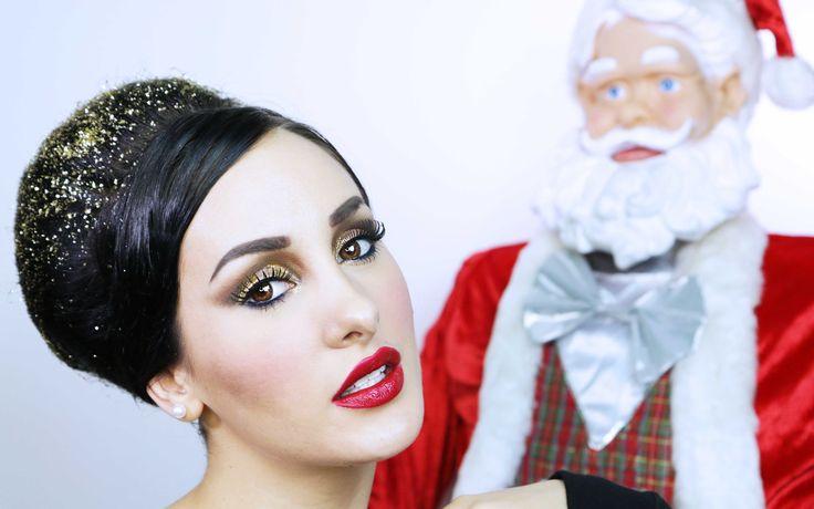 Glam Christmas - Trucco natalizio
