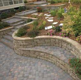 Block+Retaining+Walls | Our Anchor Wall products are manufactured at our plant located in ...