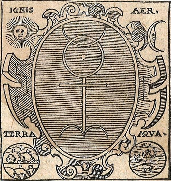 Monas Hieroglyphica - John Dee. / Sacred Geometry <3