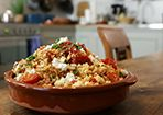 Couscous - Salat mit Tomaten und Feta (Rezept mit Bild)   Chefkoch.de