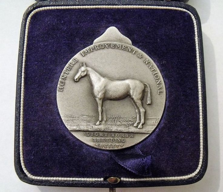 A Vintage 1967 Hunters Improvement And National Light Horse Breeding Society Medal Mrs K F W Dunn s Filly Foal by Solon Morn Clyde Vixen Reserve