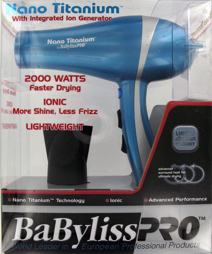 Desertviking.com - Babyliss Pro Nano Titanium Professional Hair Dryer, $239.95 (http://www.desertviking.com/babyliss-pro-nano-titanium-professional-hair-dryer/)