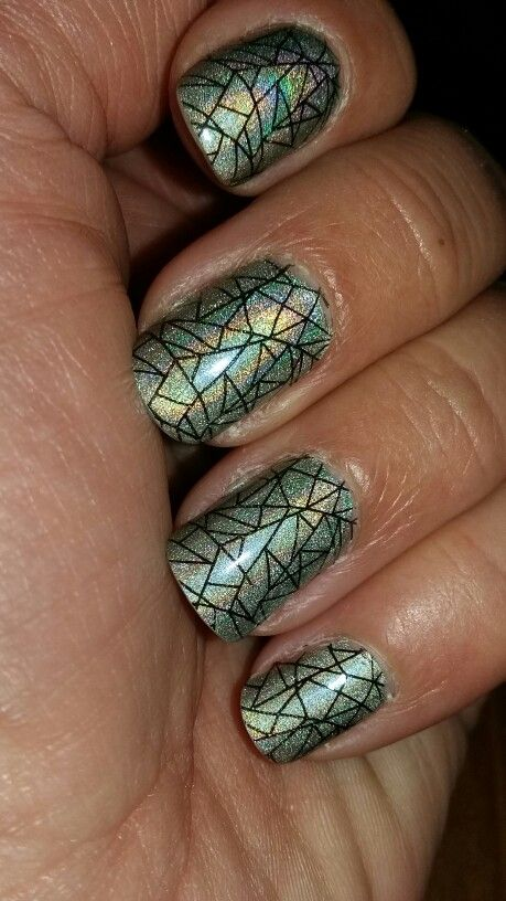 Moyra holographic effect + stamping