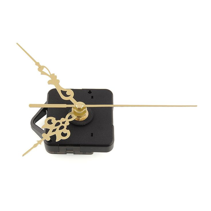 Quality Quartz Clock Movement Mechanism Parts Repair Tool with Gold Hands #2 #Unbranded