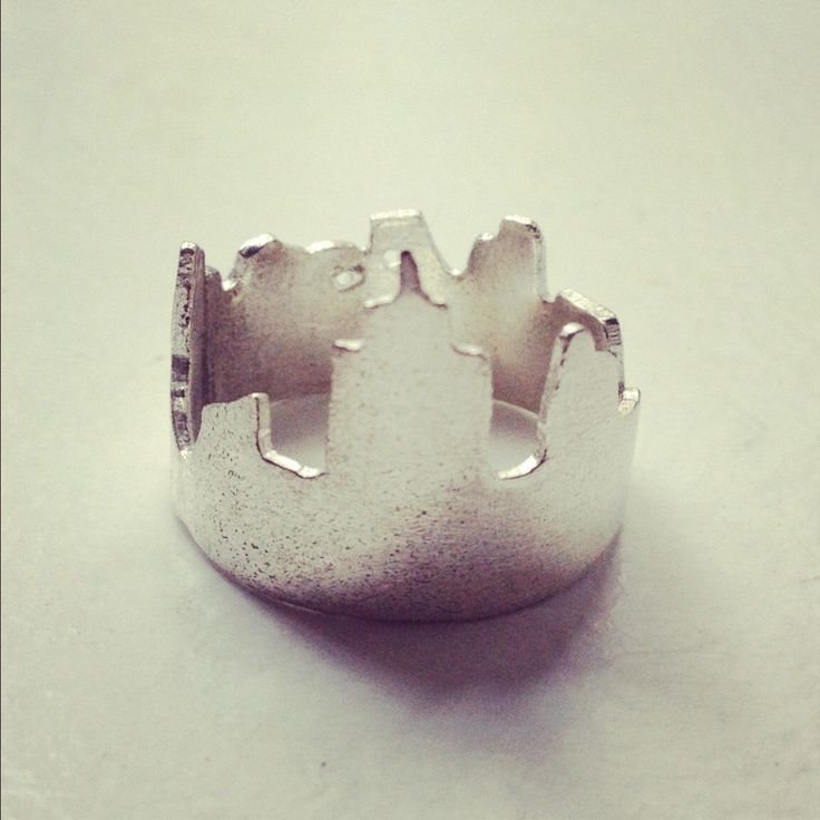 Kemi Designs / We Built This City Ring / portion of proceeds donated to Hurricane victims via Red Cross
