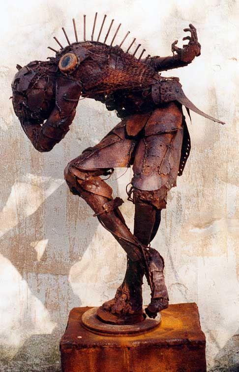 Olivier de Sagazan sculptures, paintings, performance, photography, plastic arts, visual arts, fine art