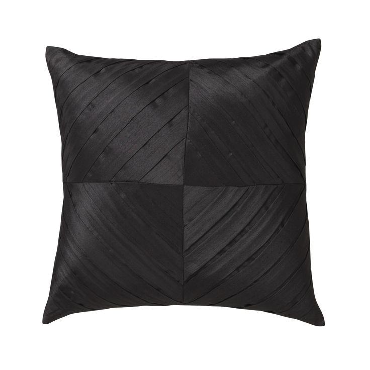 LOGAN & MASON ACCESSORIES - Kaleidoscope Black Square Cushion #black #accessories #cushion #home #décor #style #fashion #loganandmason