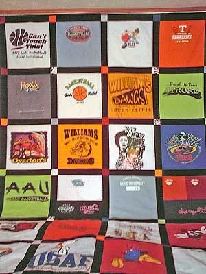 I've collected the kid's t-shirts over the years....now I just have to make the quilts!: Kid S T Shirts, Quilting Ideas, Quilt Picks, Crafty Things, Kate S Quilt, Kids, Craft Ideas, Crafty Ideas