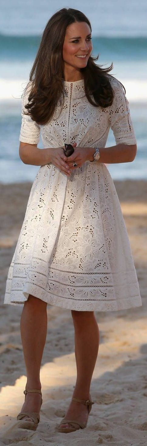 Kate Middleton Broderie Anglaise L W D Fall Inspo