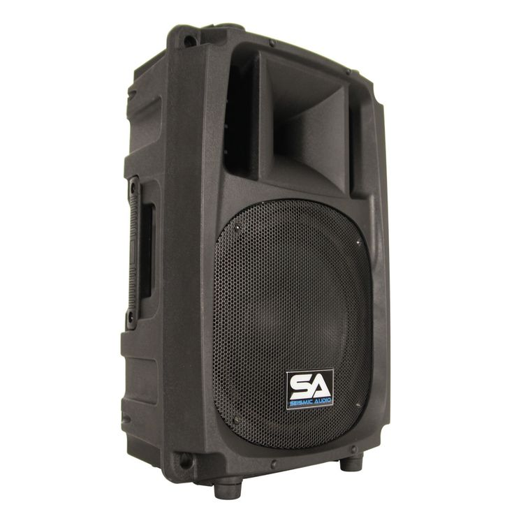 L Wave-10 - 2-Way 10 Inch Powered PA Speaker Cabinet