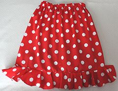 """Kids Flamenco Skirt """"Flamenquita 1 frill"""" for ages 6 months - 6 years. Made to order - £23.99 at www.ambienteflamenco.co.uk/shop"""
