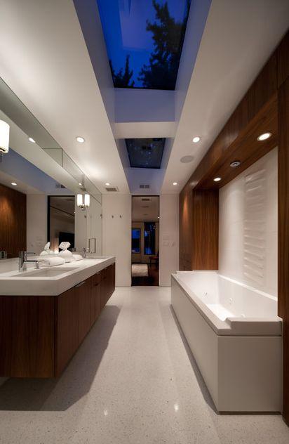 D'exceptionnelles salles de bain contemporaines