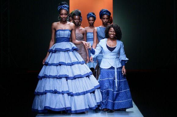MBFW AFRICA 2013 - Bongiwe Walaza. Credit: SDR Photo