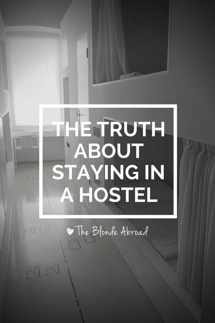 Staying in a Hostel | The Blonde Abroad