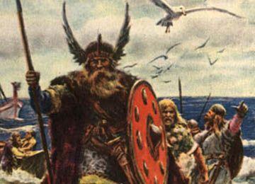 Viking Burial – Scandinavia