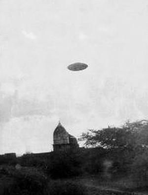 UFO?? photo taken near New Delhi, India (July 3, 1964):