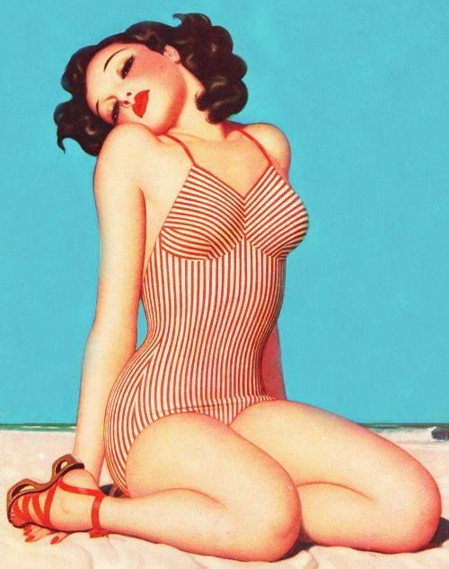 Love the pin up!
