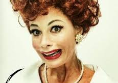 Sofia Vagara as Lucy Ricardo.
