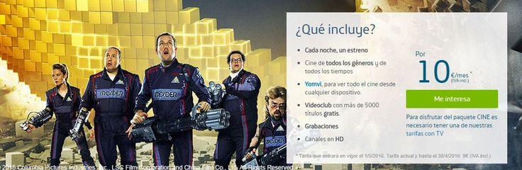 MasQmoviles Movistar variara el precio de sus paquetes series y cine de su servicio de TV de pago