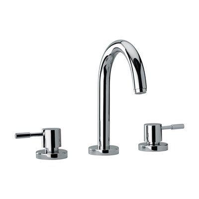 Jewel Faucets 1610 J16 Bath Series 2 Lever Handle Roman Tub Faucet with Goose Neck Spout