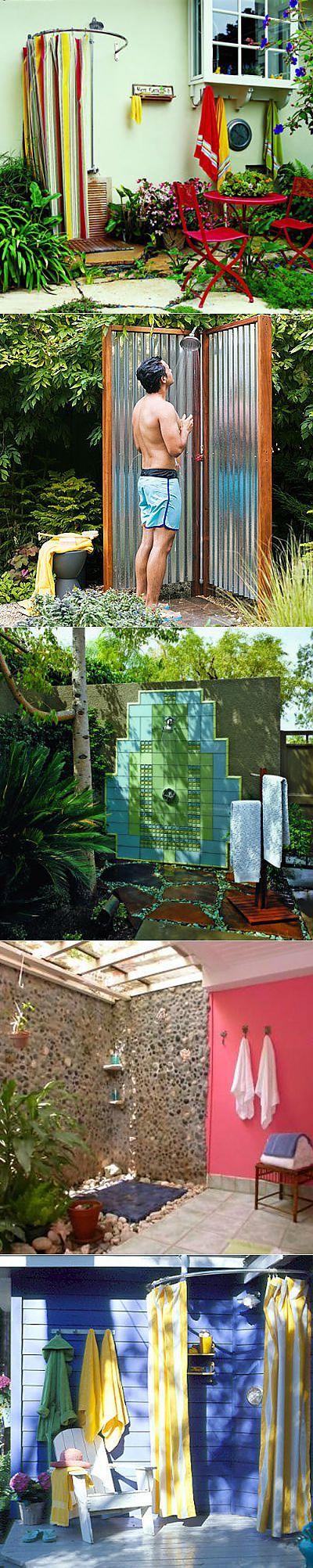 Летний душ в саду | Наш уютный дом