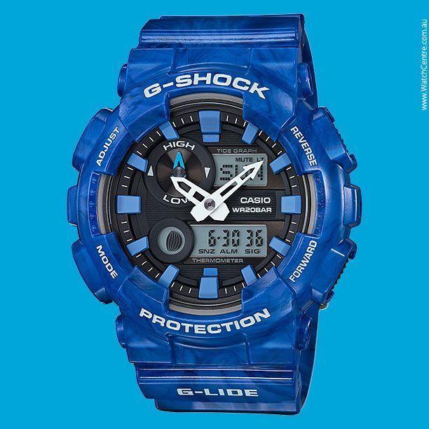G-Shock G-LIDE GAX-100 Series Model No. GAX-100MA-2A