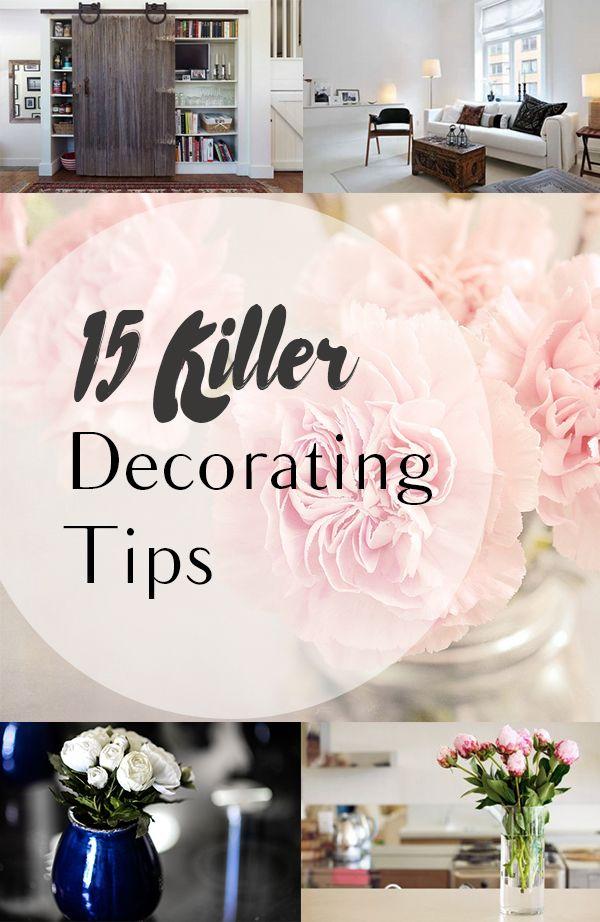 15 Killer Decorating Tips