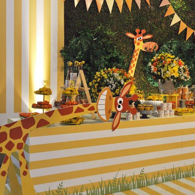 festa girafas