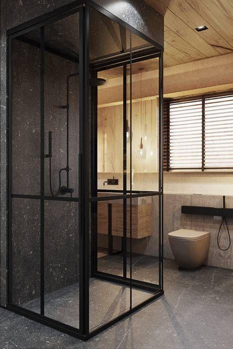 modern Bathroom photos by razoo-architekci | homify
