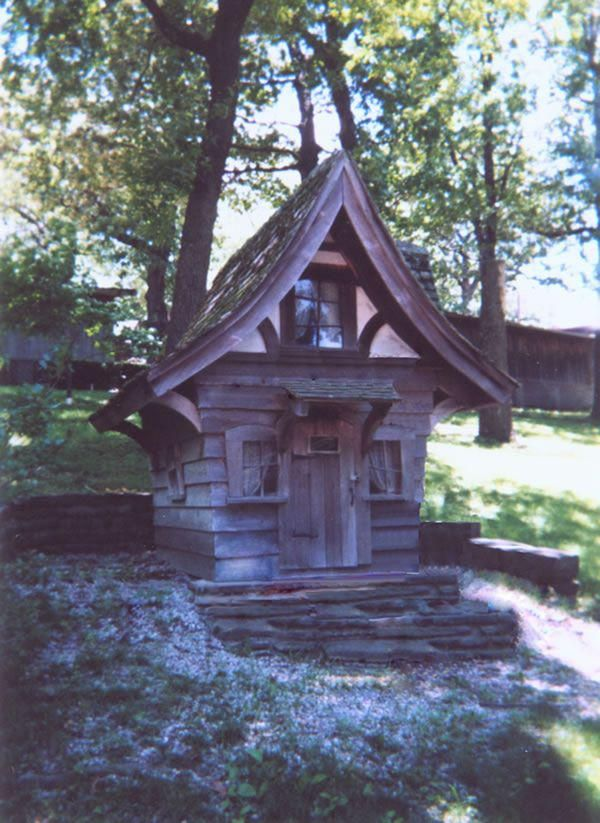 Cottages storybook cottage and playhouse plans Build storybook