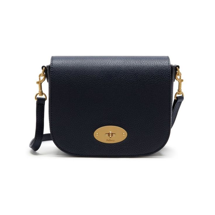 Shop the Small Darley Satchel in Midnight Leather at Mulberry.com. The Small Darley Satchel has retro mini-bag appeal, a long leather cross-body strap and its namesake lock signature.