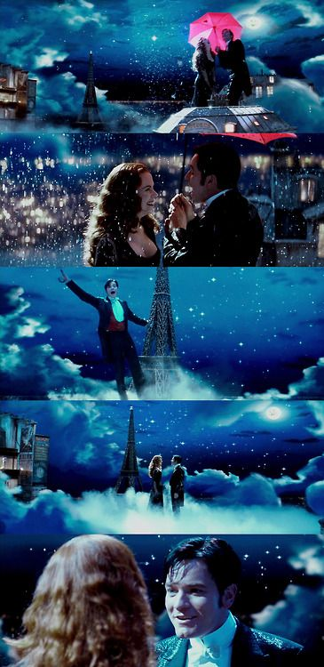 "Nicole Kidman et Ewan McGregor, Moulin Rouge ""Elephant Love Medley, Your Song"" *~❤•❦•:*´`*:•❦•❤~*"