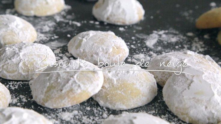 Biscuits boules de neige