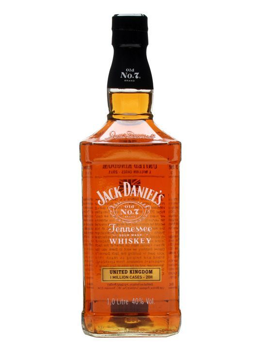 Jack Daniel's Old No.7 / 1 Million Cases / Litre 100cl / 40% Tennessee Whiskey An incredibly rare bottle of Jack Daniel's. This was produced to celebrate the sale of 1 million cases of JD in the UK in 2011. Only a handful of these were produced - a real collector's item.
