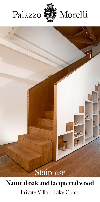 #LakeComo #privatevilla. Bespoke staircase for exclusive design. Made in Italy. #ОзероКомо #частнаявилла. Лестница – ключ эксклюзивного дизайна. Сделано в Италии.