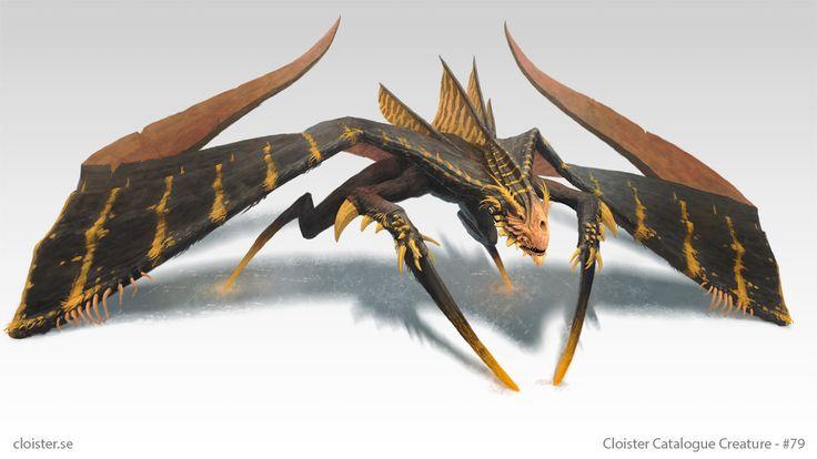 Ghidjarin - Creature Concept by Cloister.deviantart.com on @DeviantArt