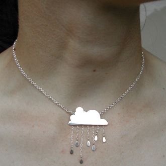 very cute! I want.: Clouds, Fashion, Jewelry, Necklaces, Accessories, Rainy Days
