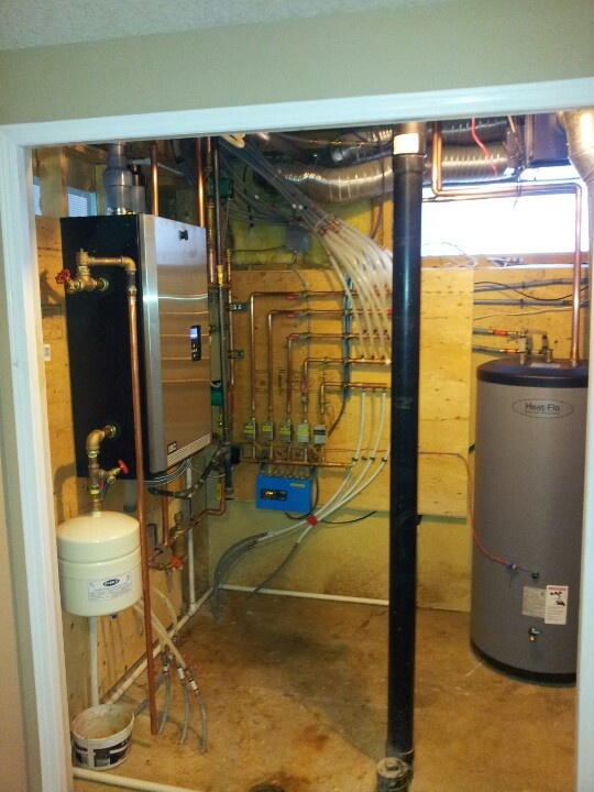 1000 images about hydronic heating boilers on pinterest for Efficient hot water systems