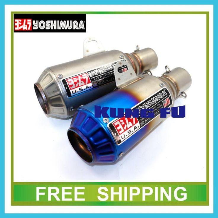 db killer Scooter Akrapovic escape pipe tubo yoshimura Exhaust Muffler pipe GY6 CBR CBR125 CBR250 CB400 CB600 YZF FZ400 Z750